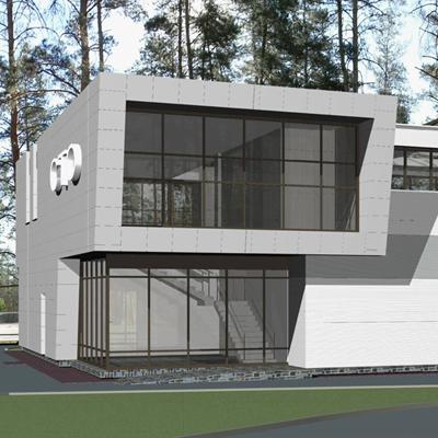 Проект СТО по ул. Учительская в Новосибирске. АПМ-Сайт