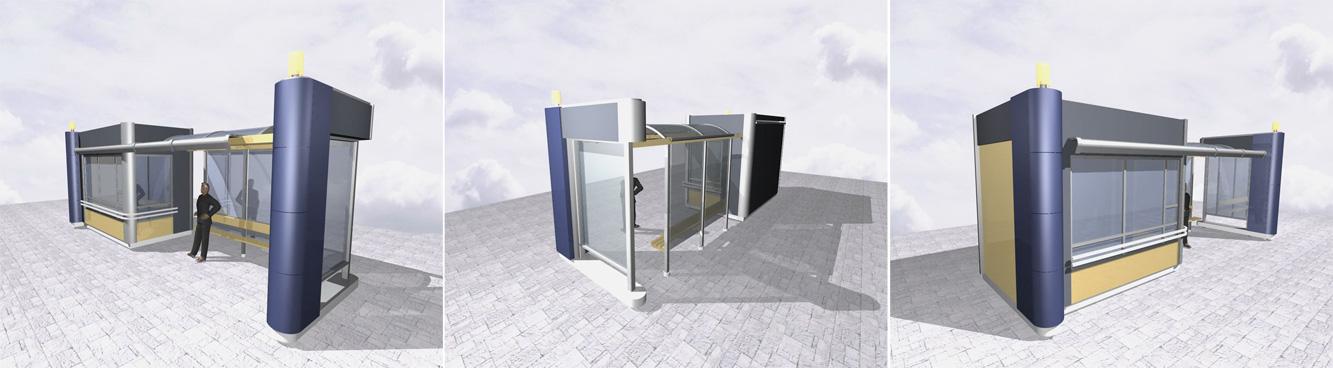 Проект остановочного павильона