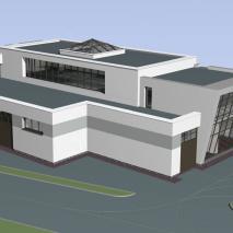 Проект СТО по ул. Учительская в Новосибирске. Вариант I. АПМ-Сайт