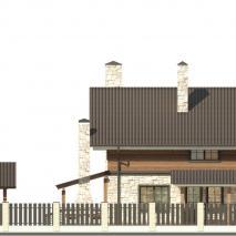 Индивидуальный жилой дом в с. Марусино