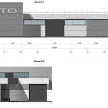 Проект СТО по ул. Учительская в Новосибирске. Вариант II. АПМ-Сайт