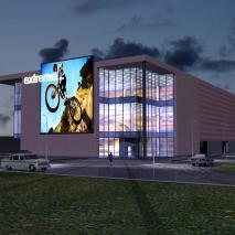 Проект торгово-развлекательного комплекса «Сатурн». Вариант 6. АПМ-Сайт. Новосибирск